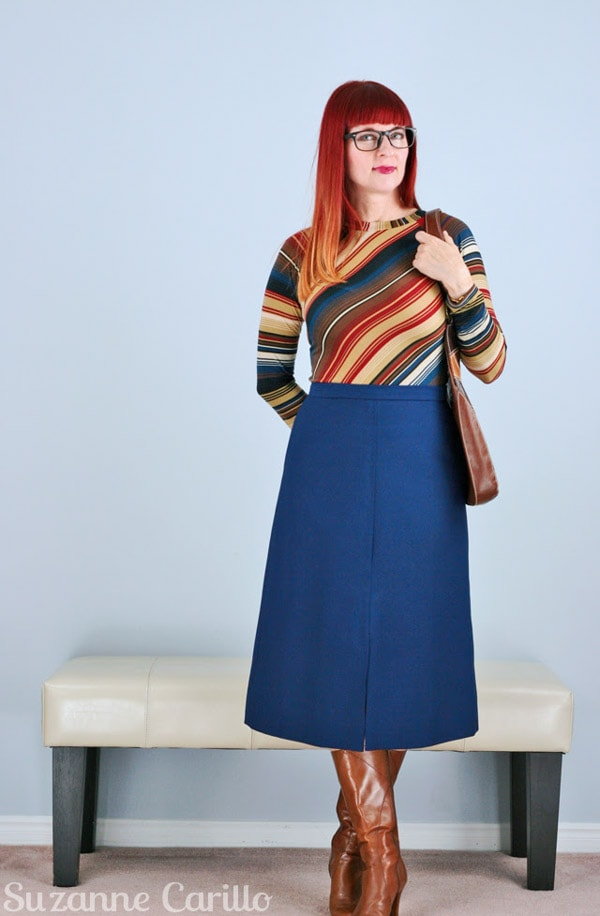 Vintage ensembles for women over 40 | 40plusstyle.com