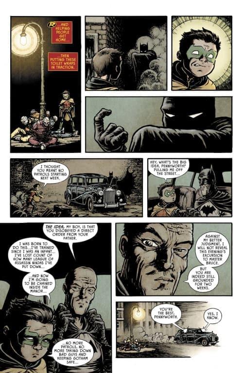 Damian Wayne, Bat-Family, Alfred Pennyworth RIP, Robin, Bruce Wayne, DC Comics, Batmobile