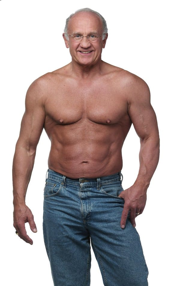 old man bodybuilder