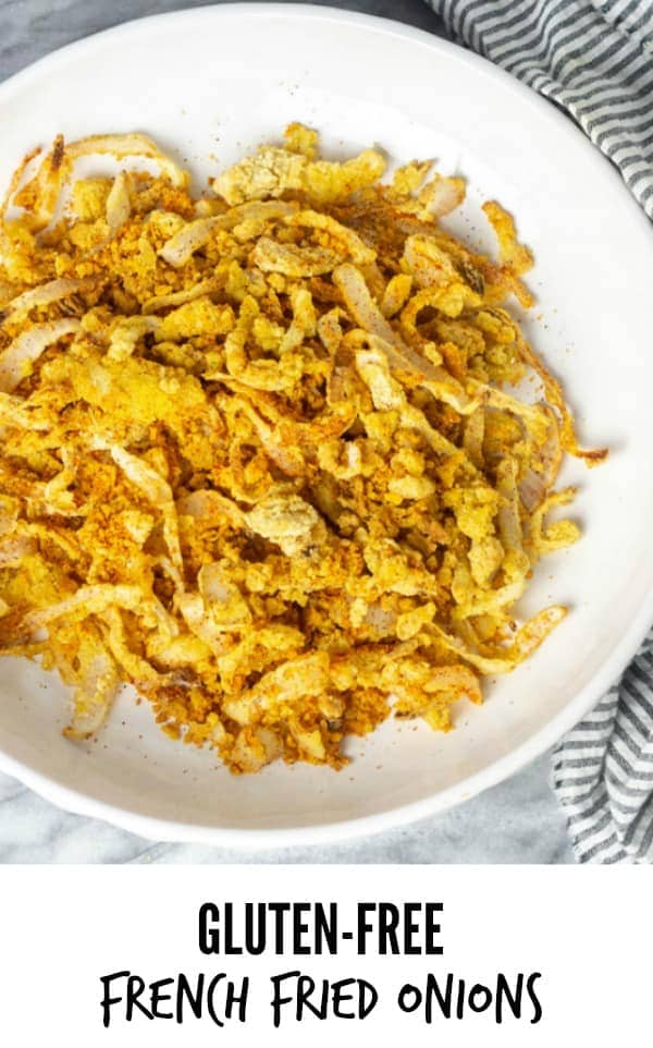 Gluten-Free Vegan French Fried Onions