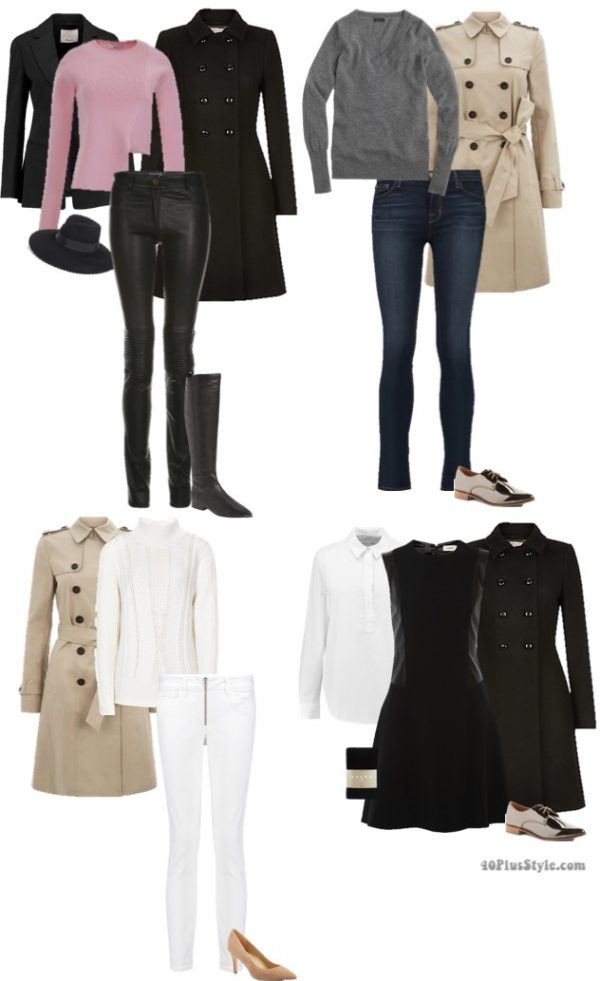 minimalist winter looks | 40plusstyle.com