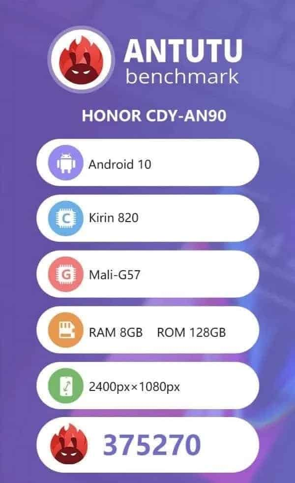 Honor 30S: