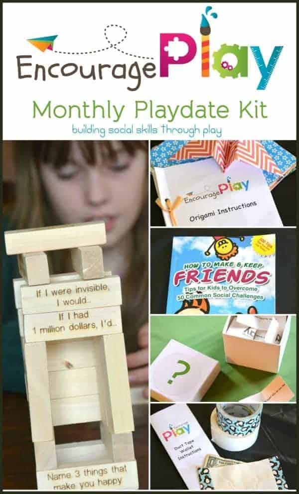 Encourage Play Friendship Kit for Building Social SKills