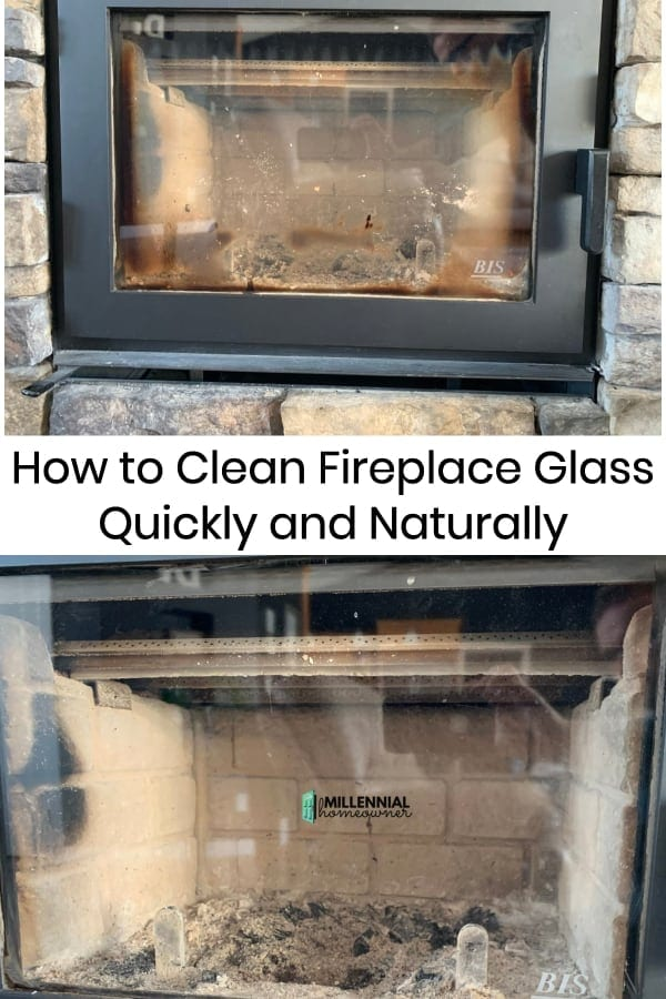 How to Clean Fireplace Glass (Naturally and for FREE)