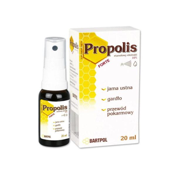 Propolis Forte etanolowy ekstrakt 10%