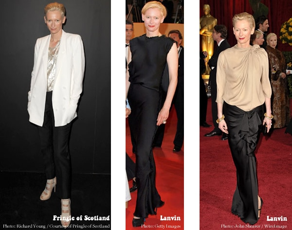 Tilda Swinton's red carpet looks as outfit inspiration | 40plusstyle.com