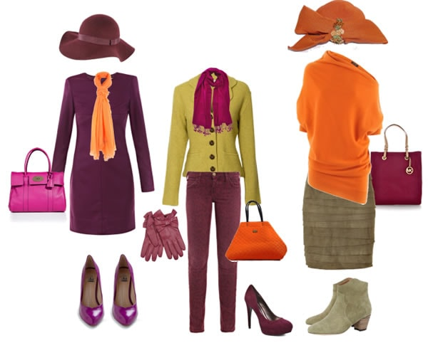 Orange color combinations | 40plusstyle.com