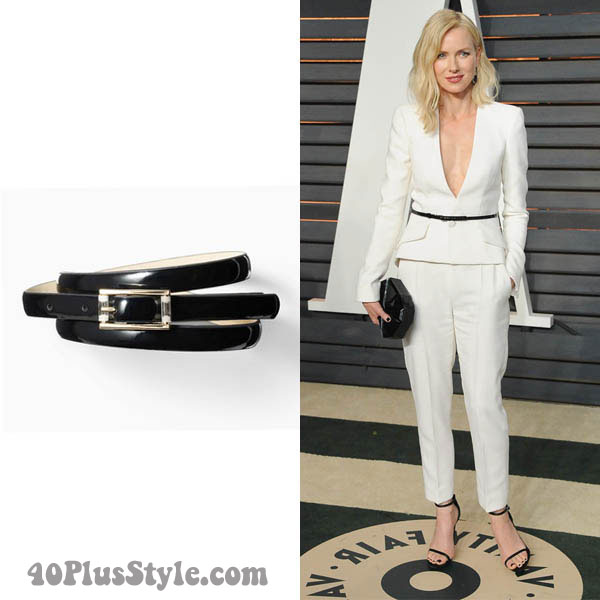 How to wear a belt | 40plusstyle.com