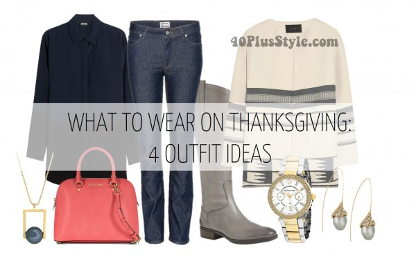 What to wear on Thanksgiving | 40plusstyle.com