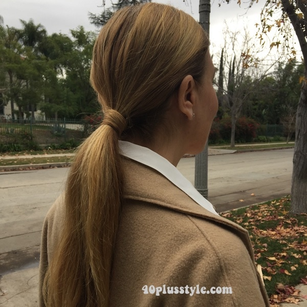 how to style long hair over 40, 40plusstyle.com