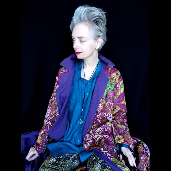 Fun style pieces: A floral vintage jacket! | 40plusstyle.com