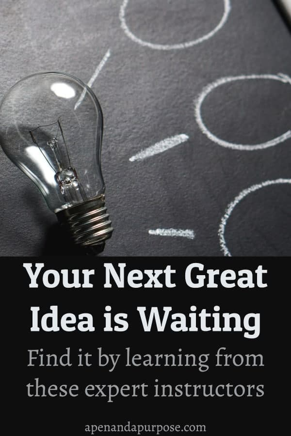Your next idea is waiting: Find it by learning from experts. An online learning platform for creators and makers.