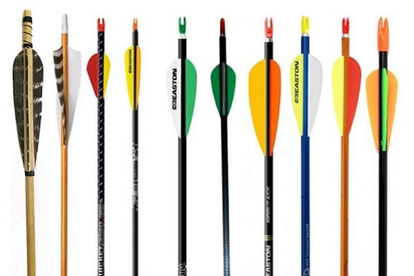 different types of arrows