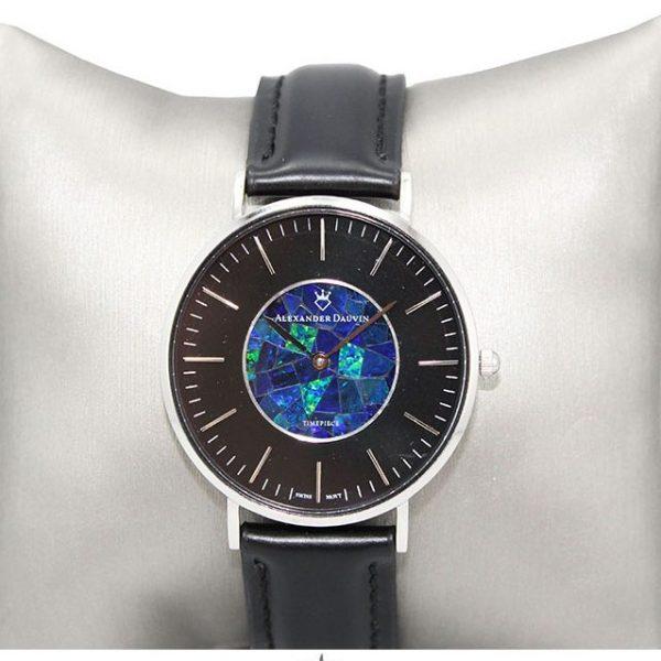 """In Black"" Opal Watch Alexander Dauvin"