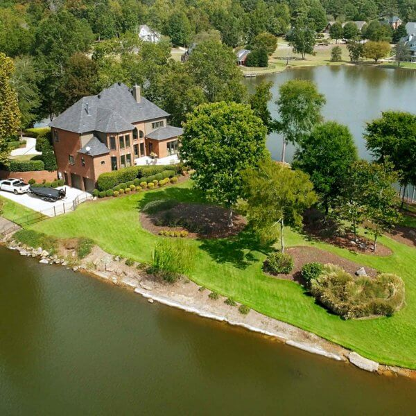 Trussville Lake Front Dream Yard