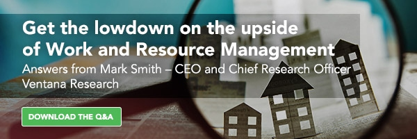 An Executive Perspective on Work and Resource Management
