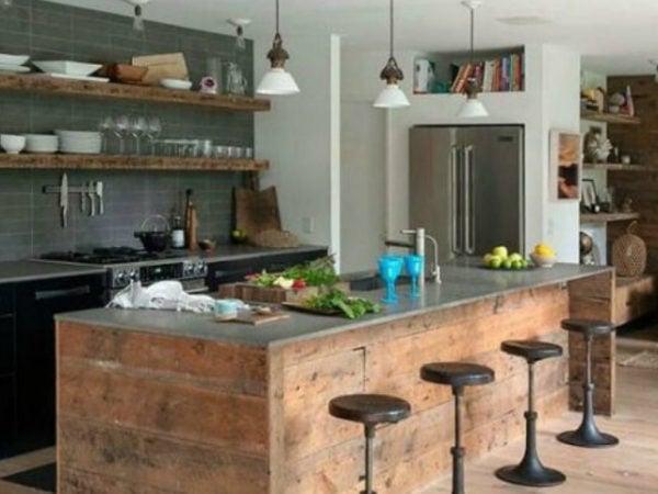 20-mejores-ideas-cocina-americana-marron