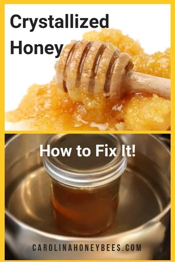 Why honey crystallizes and how you can fix it.