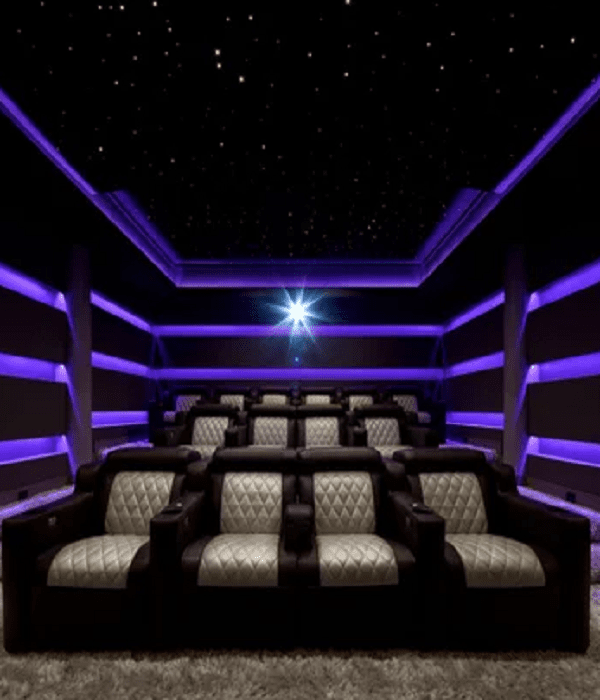 home movie theater decor