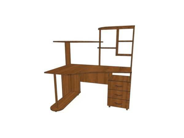 Компьютерный стол КС 11 для дома и офиса 64 вида ЛДСП