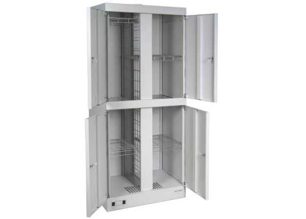 Металлический шкаф для сушки одежды и обуви ШСО-2000-4