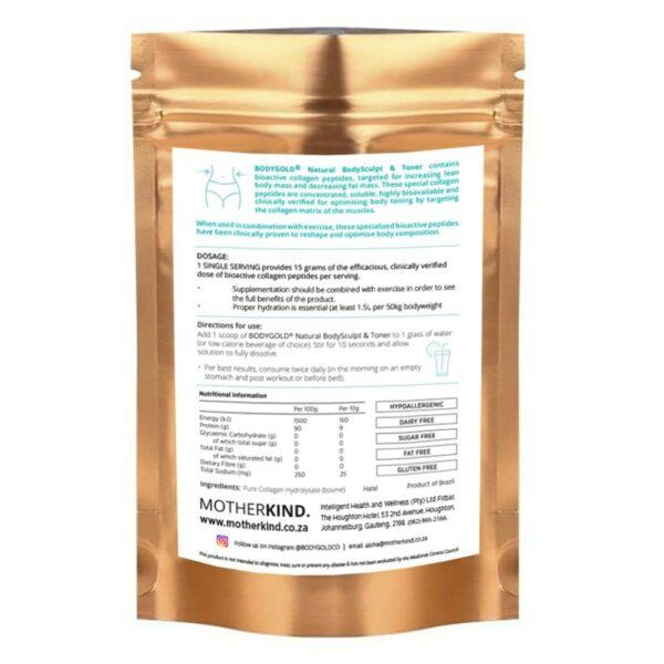 wellness-Glow Packaging back