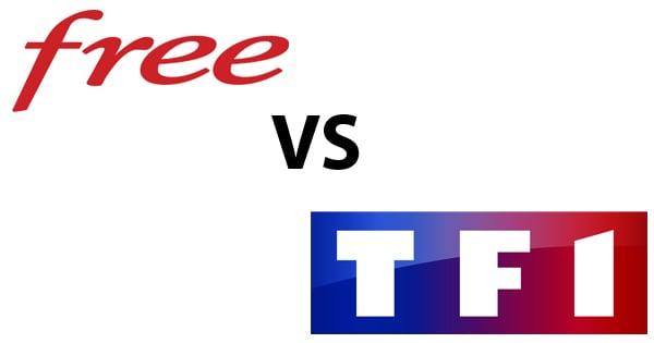 Free TF1 blocage