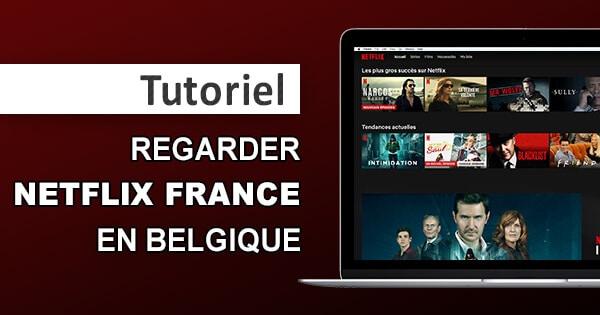 Netflix Frankrike i Belgien