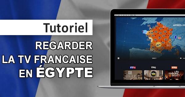 Franska TV Egypten