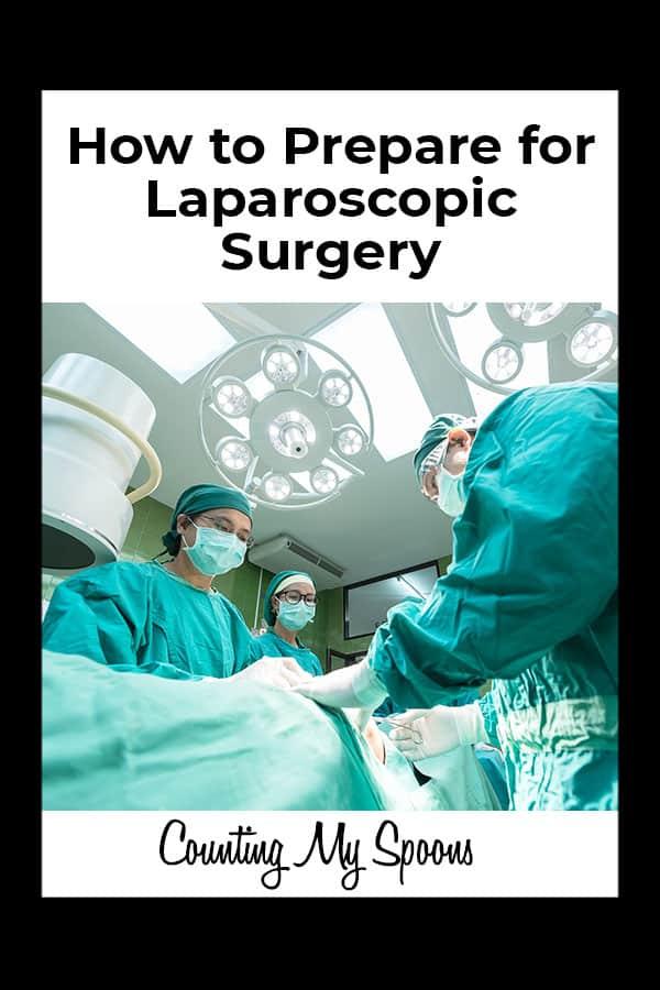 How to prepare for laparoscopic surgery