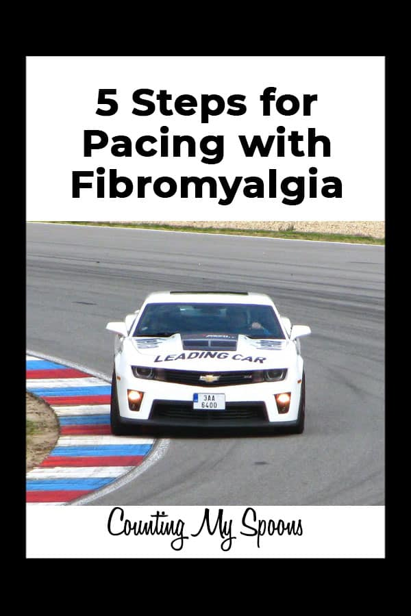 5 Steps for Pacing with Fibromyalgia