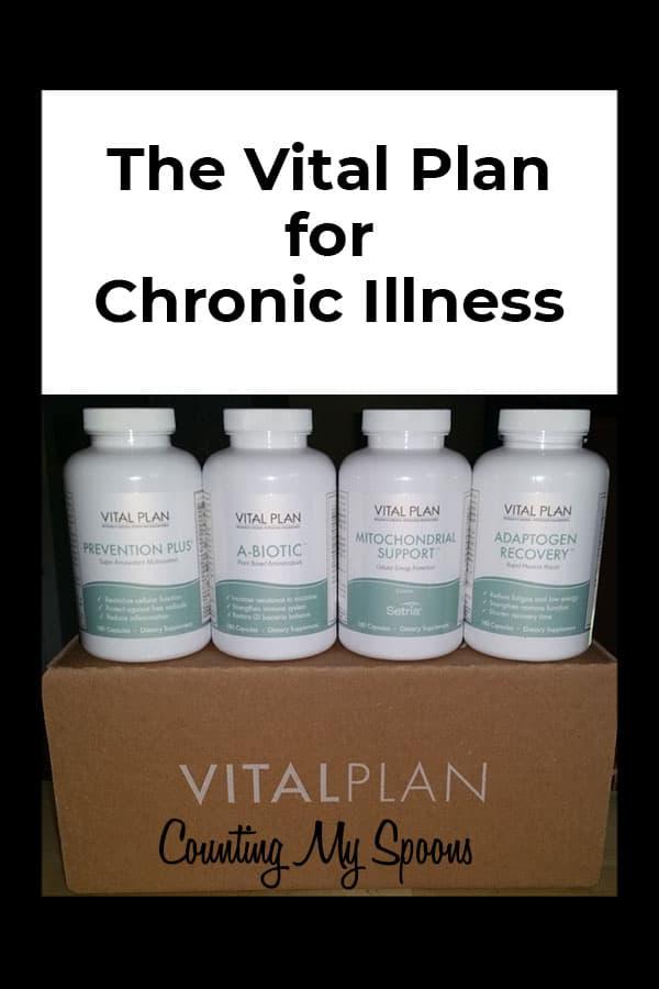 The Vital Plan Restore Kit for Fibromyalgia, Lyme & CFS/ME