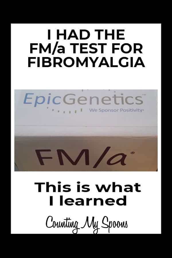 I had the fibromyalgia blood test from epicgenetics - this is what I learned