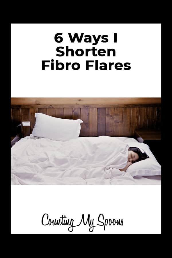 6 ways I shorten fibro flares