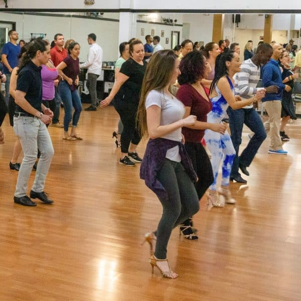 Group lessons at Crown Dance studio