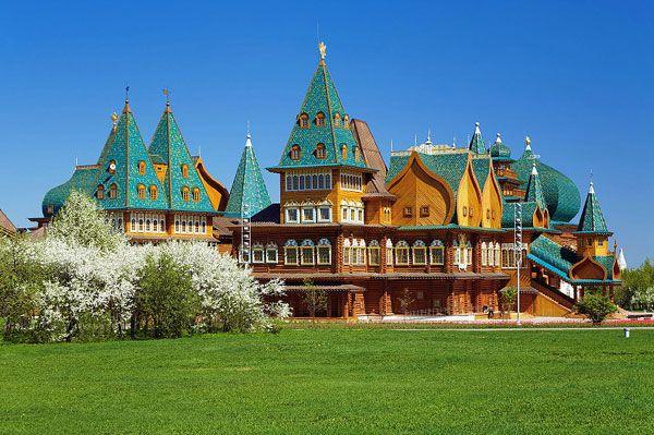 Công viên Kolomenskoye – Công viên nổi tiếng nhất nước Nga