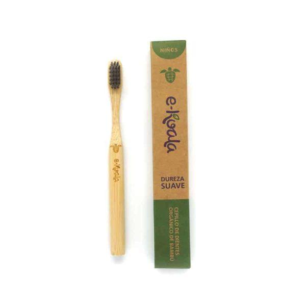 Cepillo de dientes de bambú para Niño