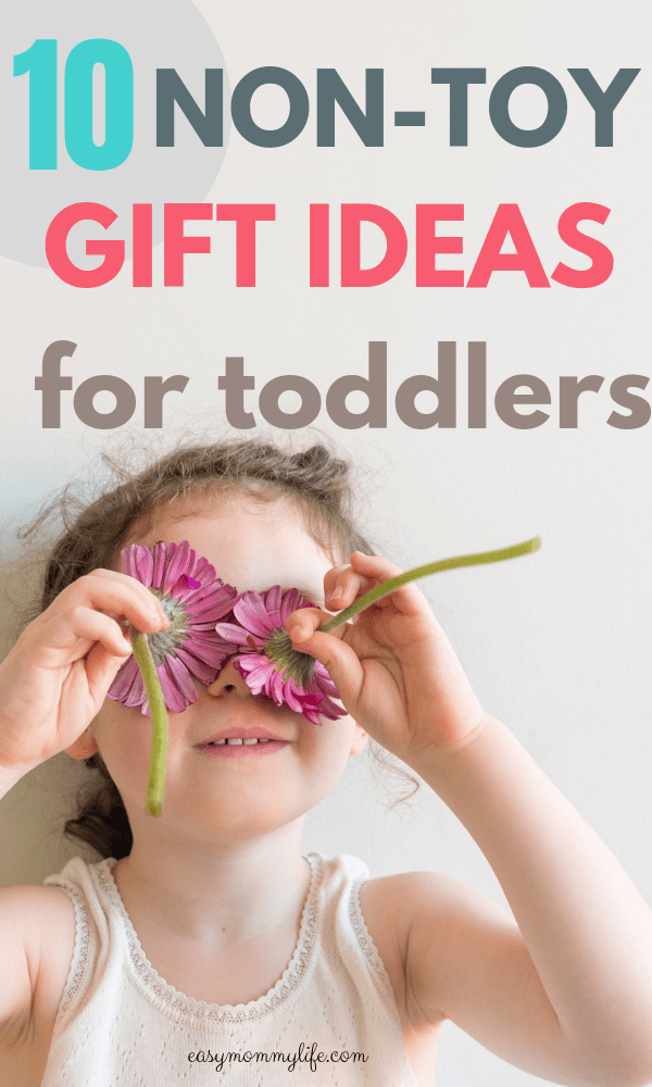non toy gifts for toddlers