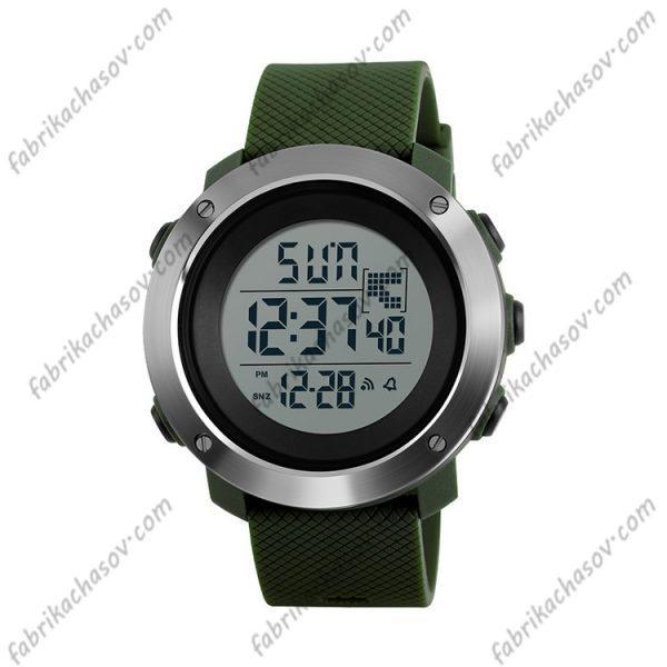 Часы Skmei 1267 зеленые спортивные