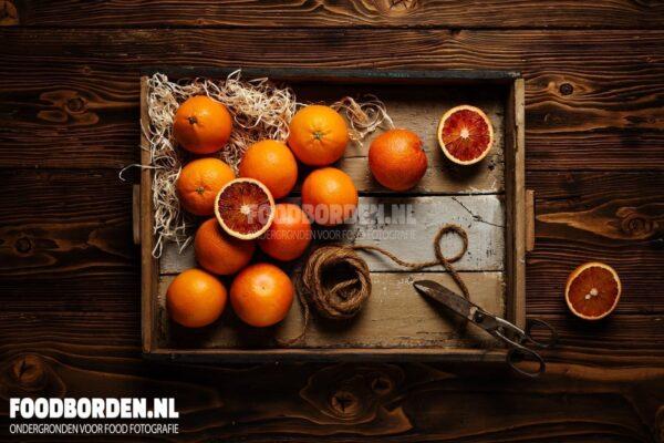 Oud hout ondergrond fotografie food