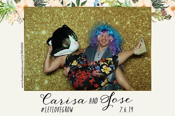 Wedding | Premium Mirror Photo Booth Rental in Austin TX | Fun Fun Party