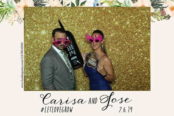 Wedding | Mirror X Photo Booth Rental | Austin TX | Fun Fun Party
