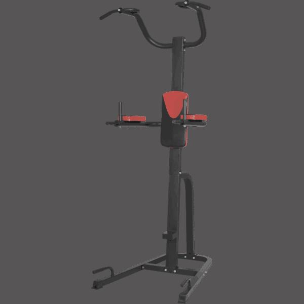 Power Tower Red – Multifunksjonell Pull Up-stasjon
