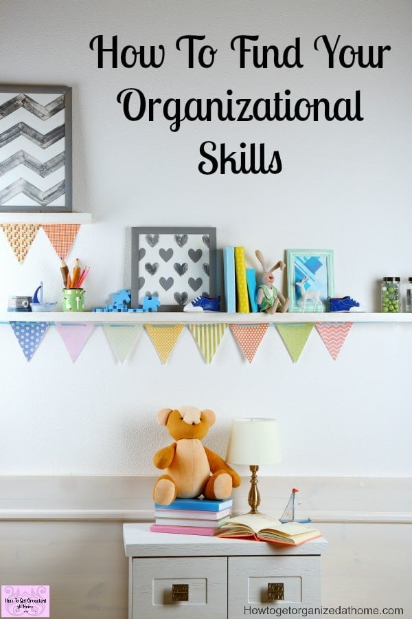 Improving your own organizational skills will help you manage your home and your life better! It will enable you to finally turn up to appointments on time and get your life on track!
