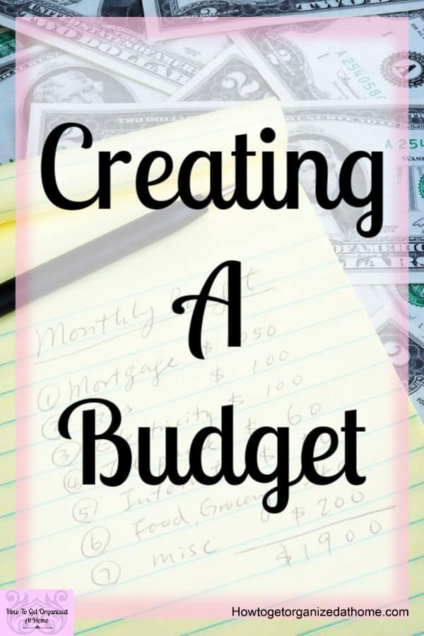 Determine the monthly budget for our home