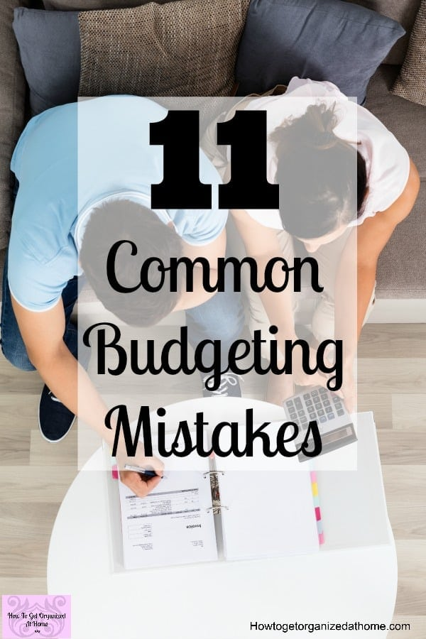 Do you want to learn about budgeting mistakes to avoid? These mistakes can really damage your budget and confidence!