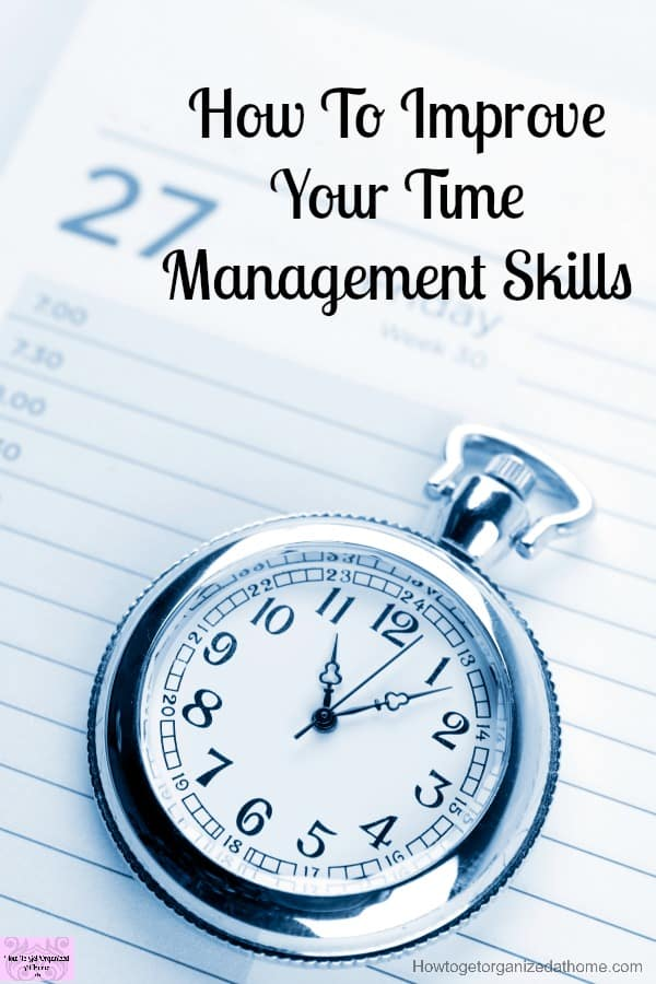 How do you manage your time? Do you need help with time management skills? A great article to help you!