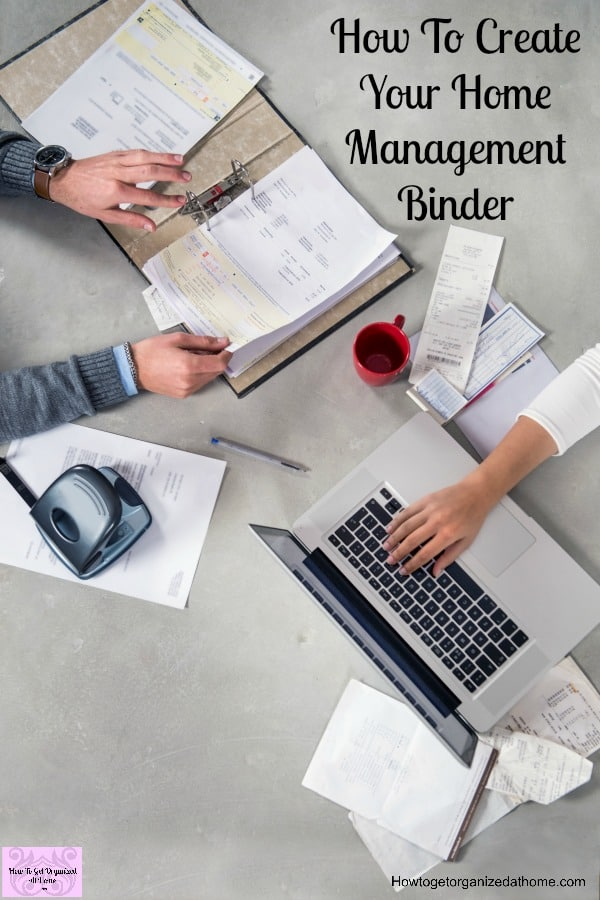 Don't be scared of creating a home management binder, it is there to help you and to ensure that you are working together as a family unit!