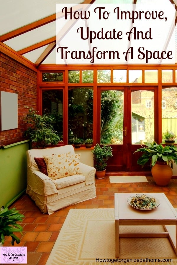 How to improve, update and transform a space in your home. Learn what you must do first and why you need to create a budget for your project!