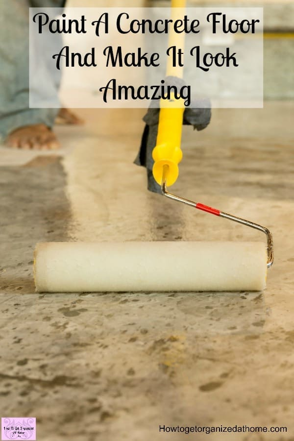 Have you tried to paint a concrete floor? I've been looking into the different options and techniques for the best floor paint and styles to try! There are a lot more options when painting a concrete floor than I imagined!